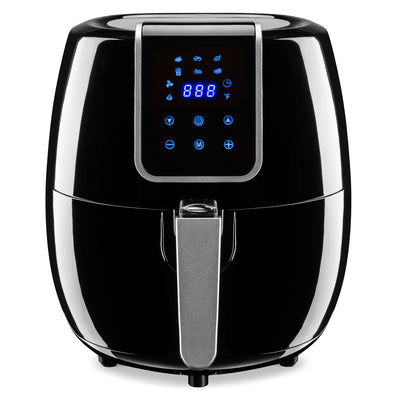Best Choice Products 5.2L Extra Large Capacity Digital Air Fryer W/ LCD Screen, 7 Preset Settings, and Non-Stick Coating