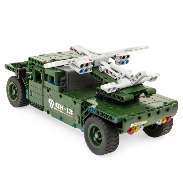 453-Piece RC Military Tank Building Set