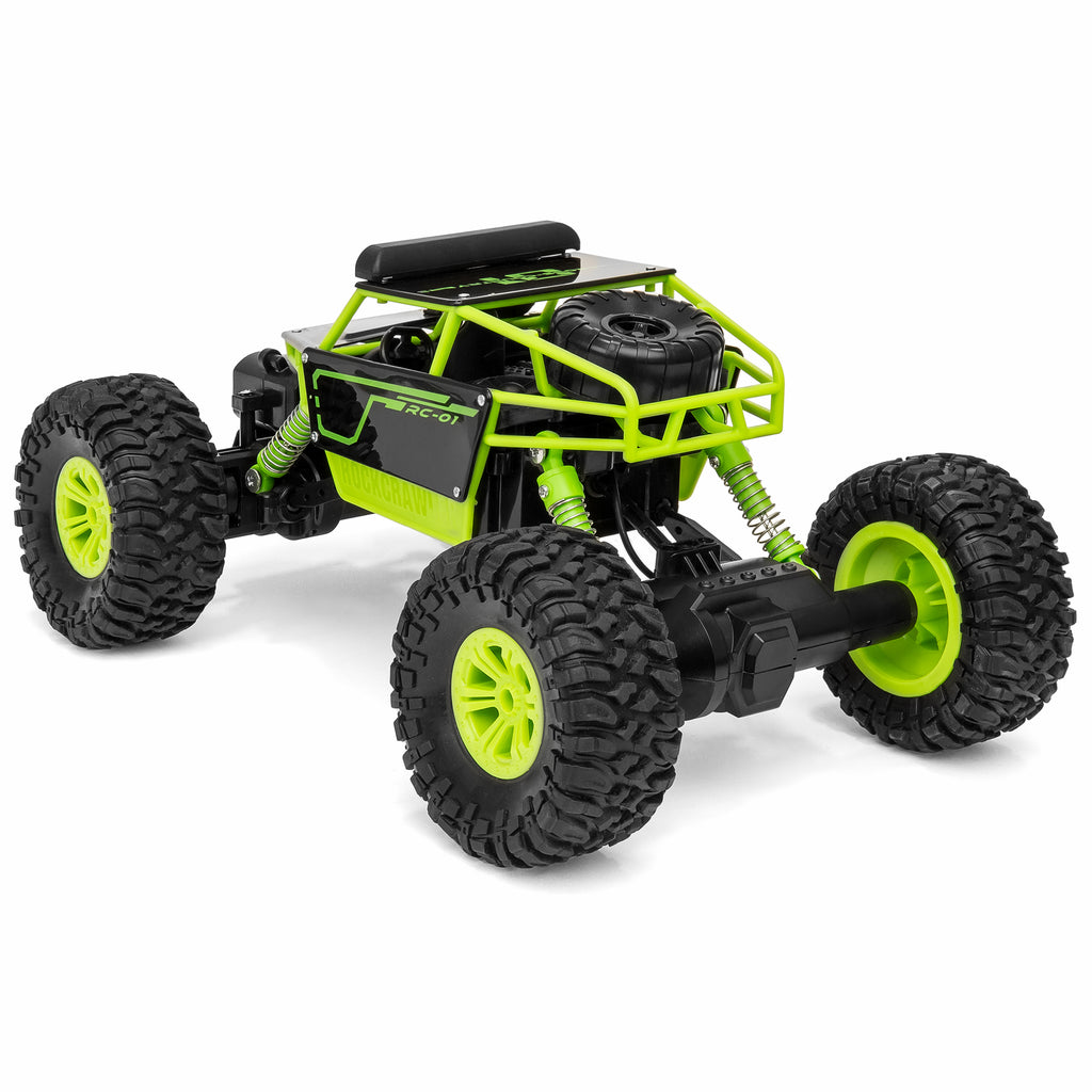 1/18 All-Terrain FPV Real-Time Video Truck w/ Built-In Camera - Green