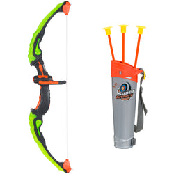 Light Up Kids Archery Bow & Arrow Playset - Green