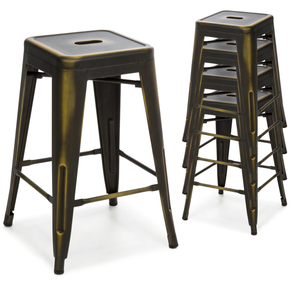 Backless Counter Height Stools Darlee Classic Cast