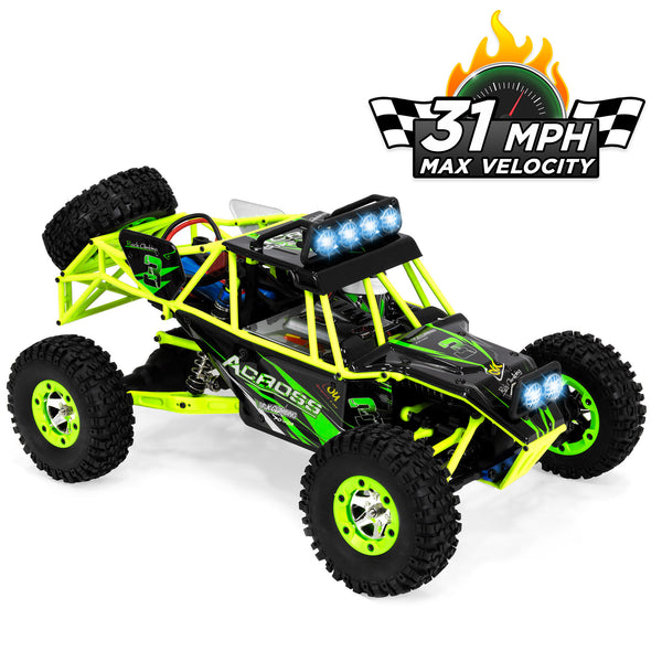 Remote Control Off-Road Racing Rock Crawler Truck