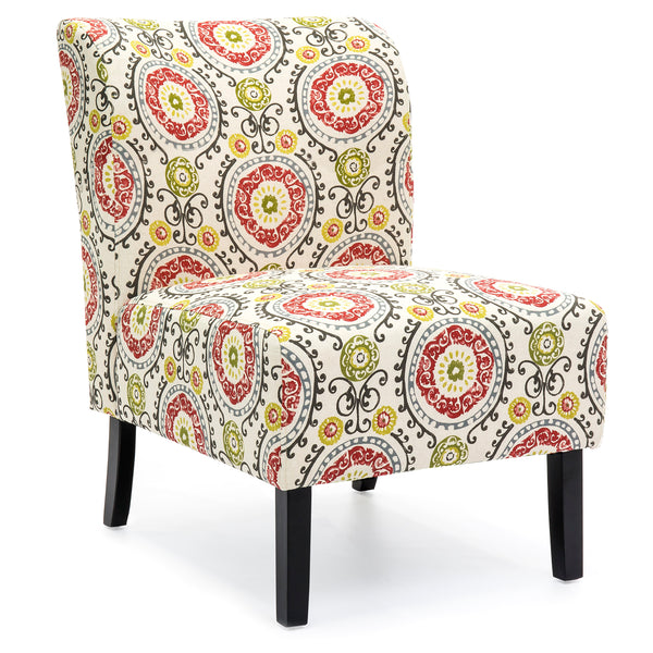 Modern Contemporary Upholstered Accent Chair - Multicolor