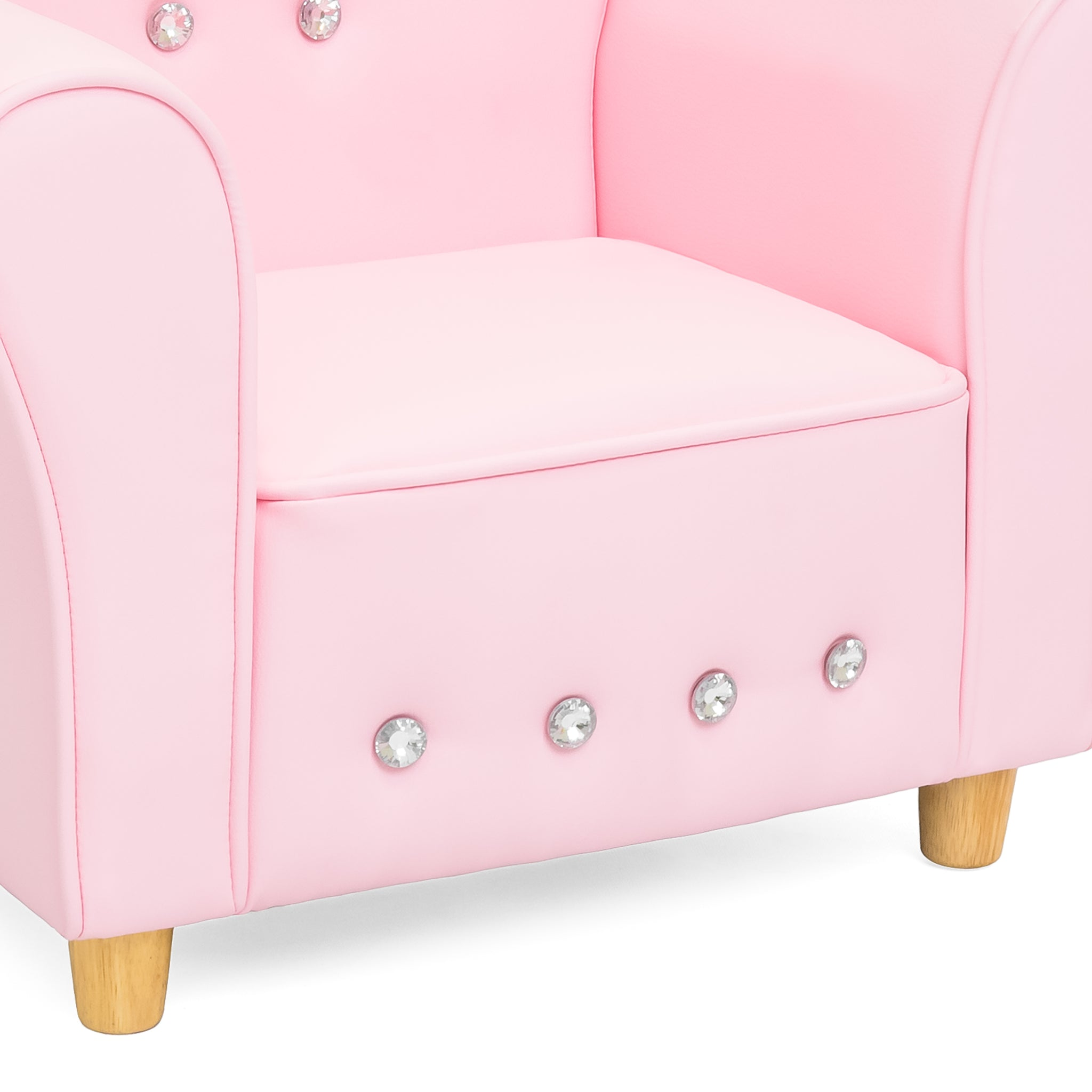 Kids Mini Sofa Chair Pink – Best Choice Products
