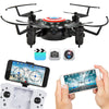 Best Choice Products Folding 2.4GHz Mini Drone Quadcopter Altitude Hold USB Charger Smart Phone Control WIFI Camera