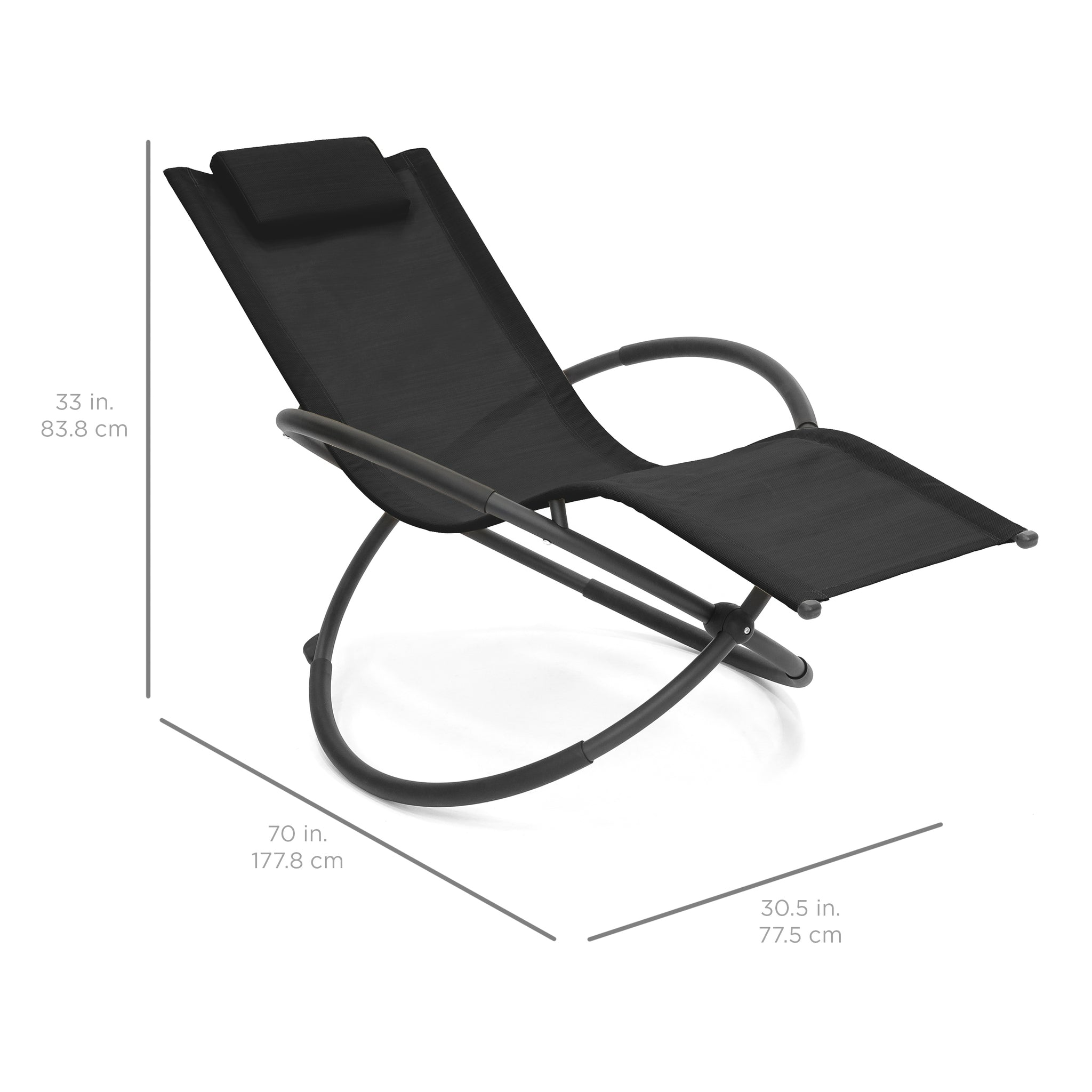 folding zero gravity chair w removable pillow black best