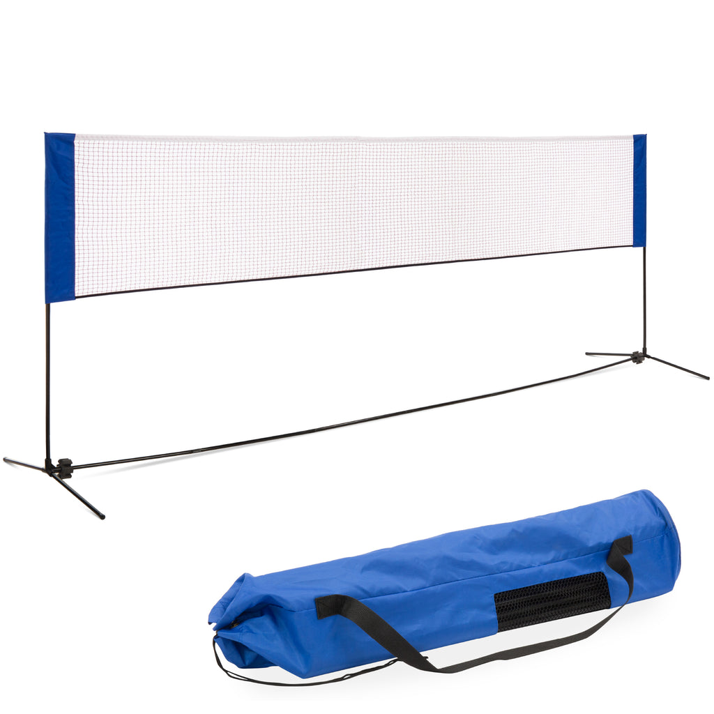 12.5ft Portable Freestanding Volleyball, Tennis, Badminton Net