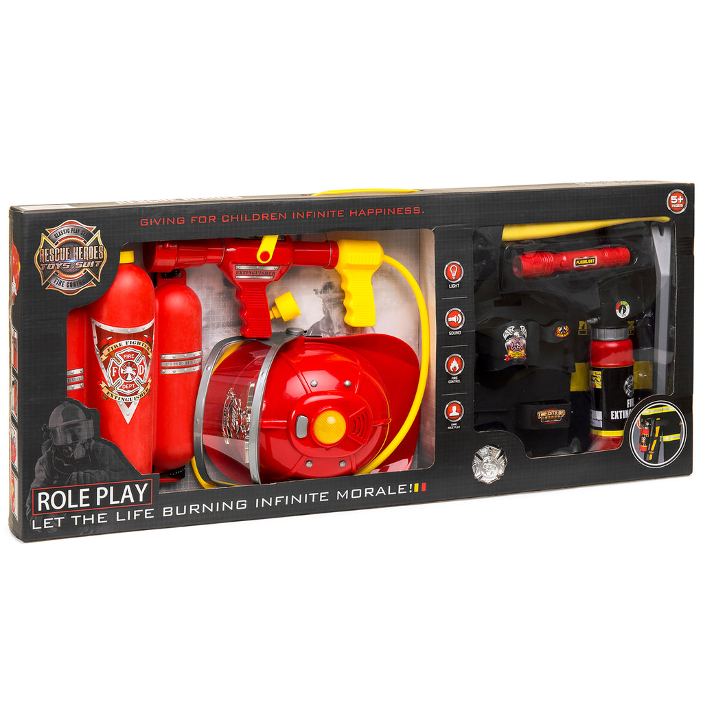 Pretend Firefighter Playset