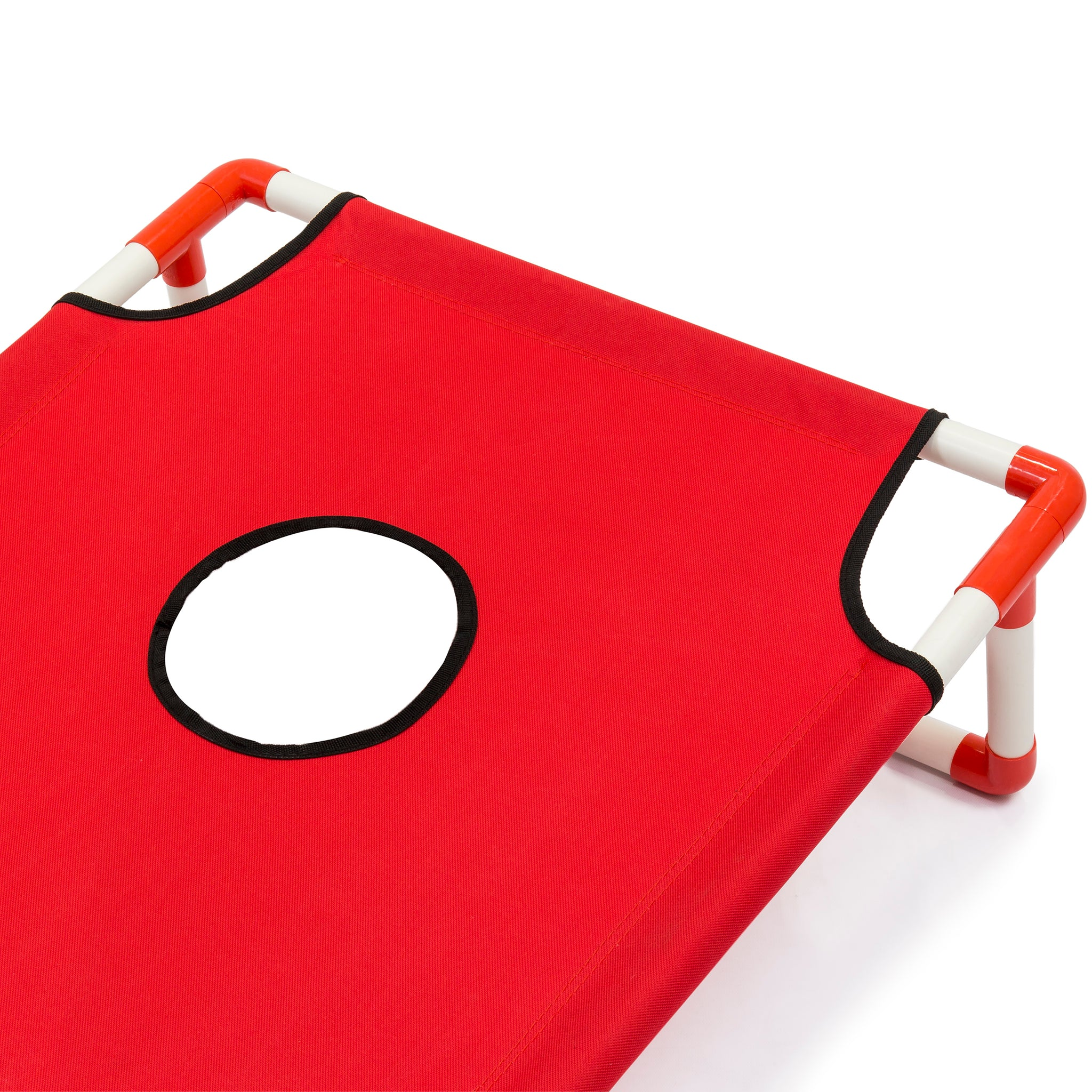 Portable Cornhole Set W/ Carrying Case   Red/Blue