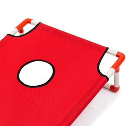 Portable Cornhole Set w/ Carrying Case - Red/Blue