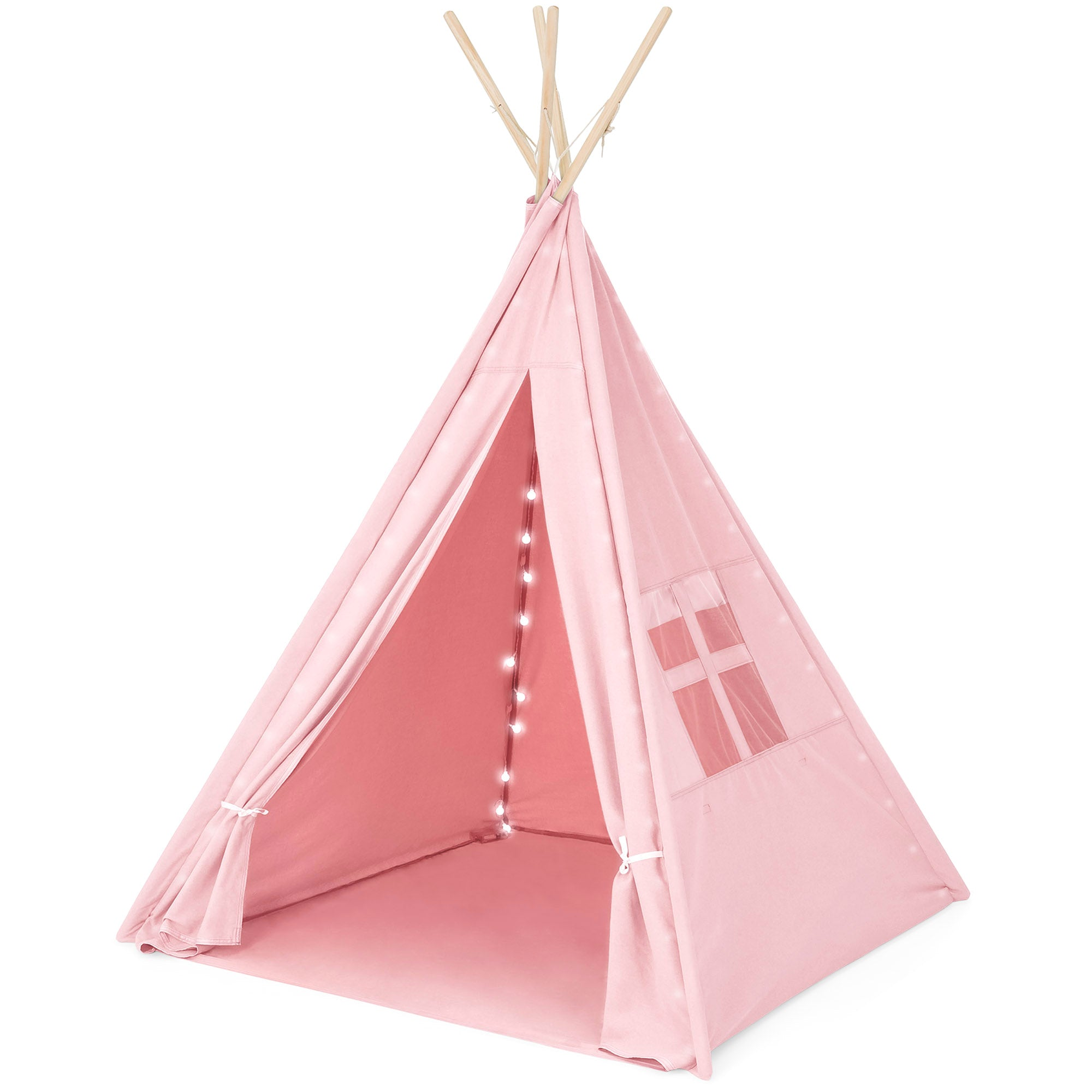 6FT Light Up Teepee Play Tent w/ Carry Case Mat - Pink  sc 1 st  Best Choice Products & 6FT Light Up Teepee Play Tent w/ Carry Case Mat - Pink u2013 Best ...