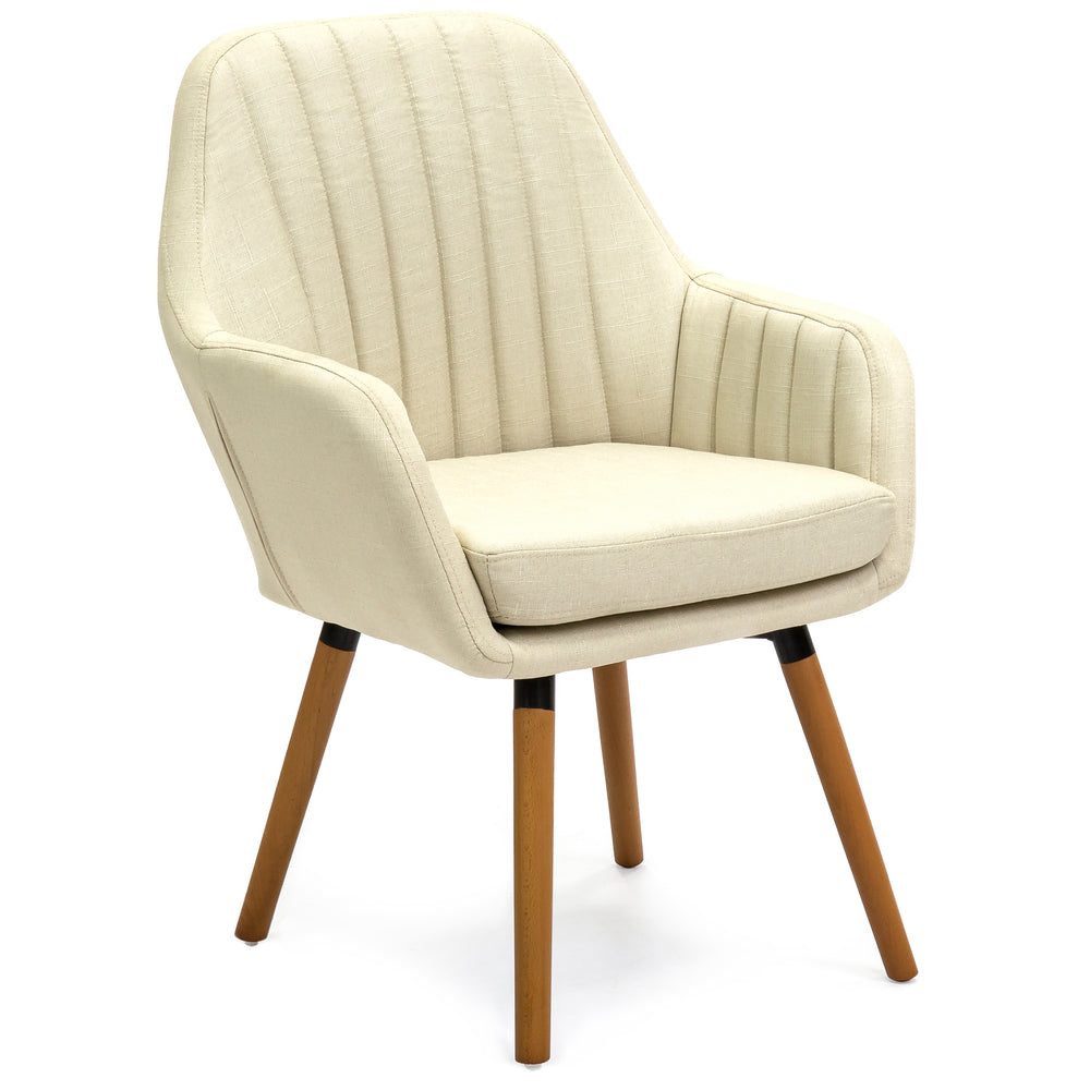 Modern Tufted Accent Chair Model