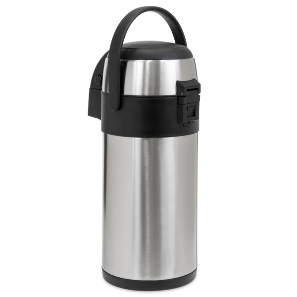 5L Thermal Airpot Coffee Beverage Dispenser - Silver