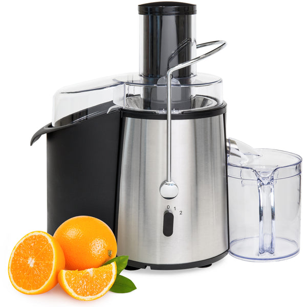 700-Watt 2-Speed ETL-Certified Power Juicer - Silver
