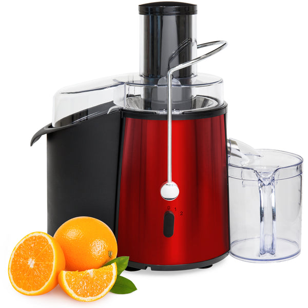 700-Watt 2-Speed ETL-Certified Power Juicer - Red