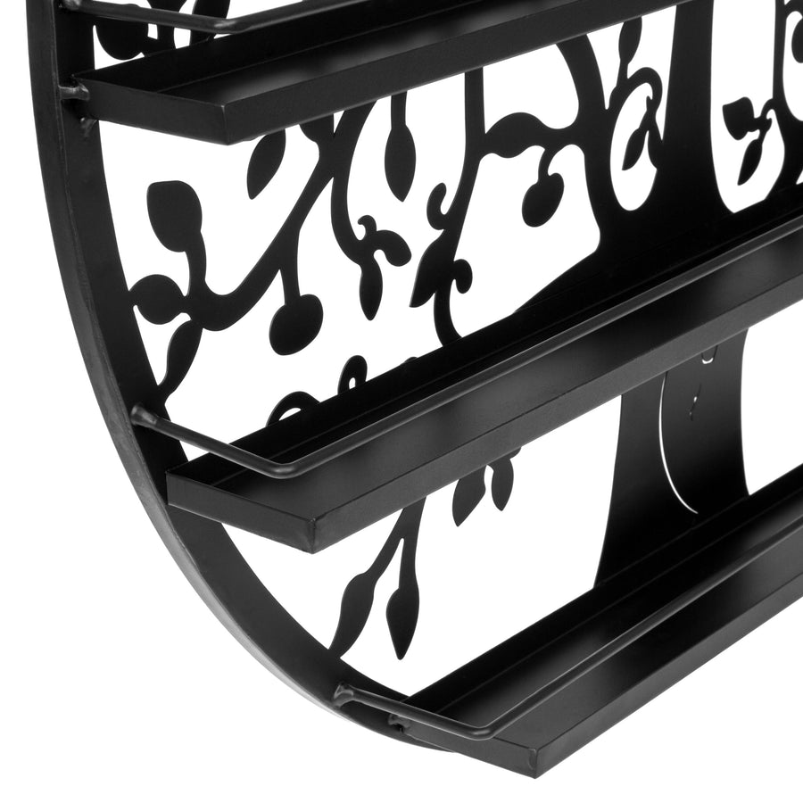 5-Tier Nail Polish Rack - Black