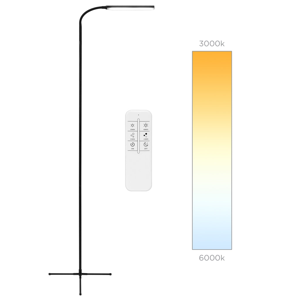 Remote Control Led Floor Lamp W 12 Brightness 10 Color Options Best Choice Products