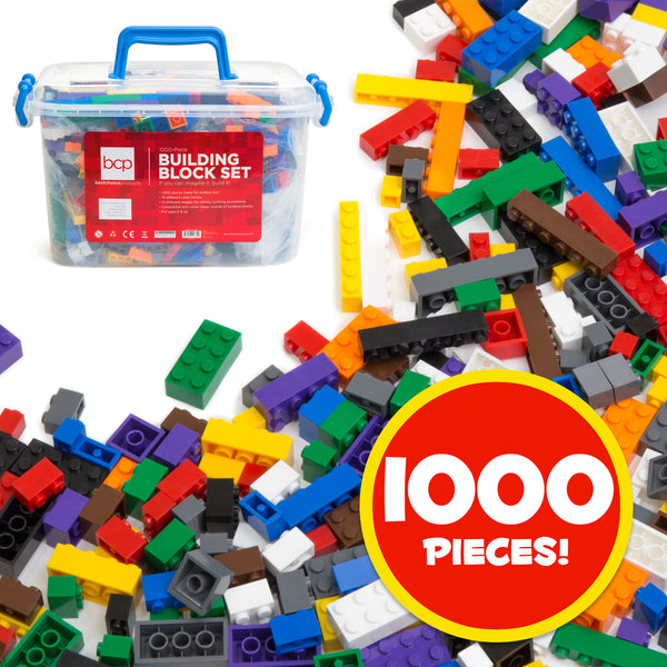 Best Choice Products 1000-Piece Building Blocks Set