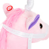 38in Stuffed Unicorn Stick Animal w/ 2 Sounds - Pink