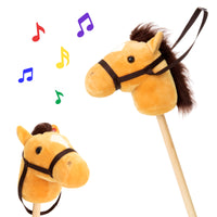 Deals on Best Choice Products 36in Stick Horse Toy w/ 2 Sounds