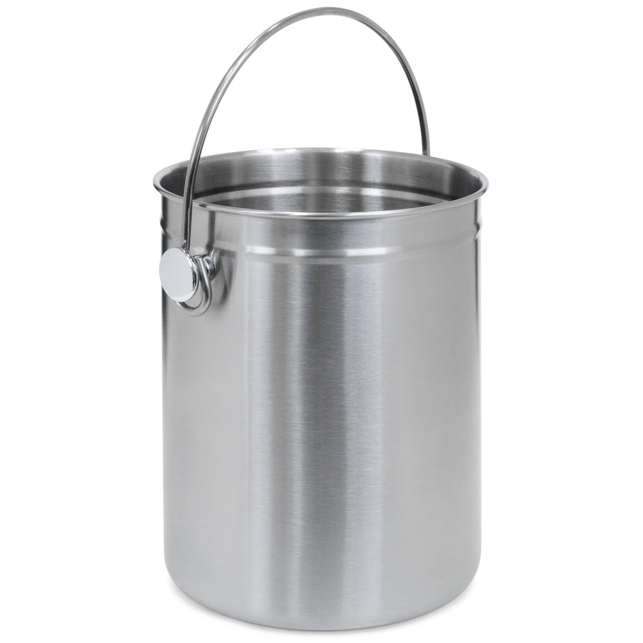 "11"" Stainless Steel Compost Trash Bin"