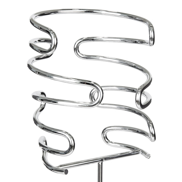 5-Piece Wine Holder Stakes - Silver