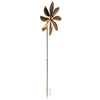 Flower Wind Spinner - Bronze