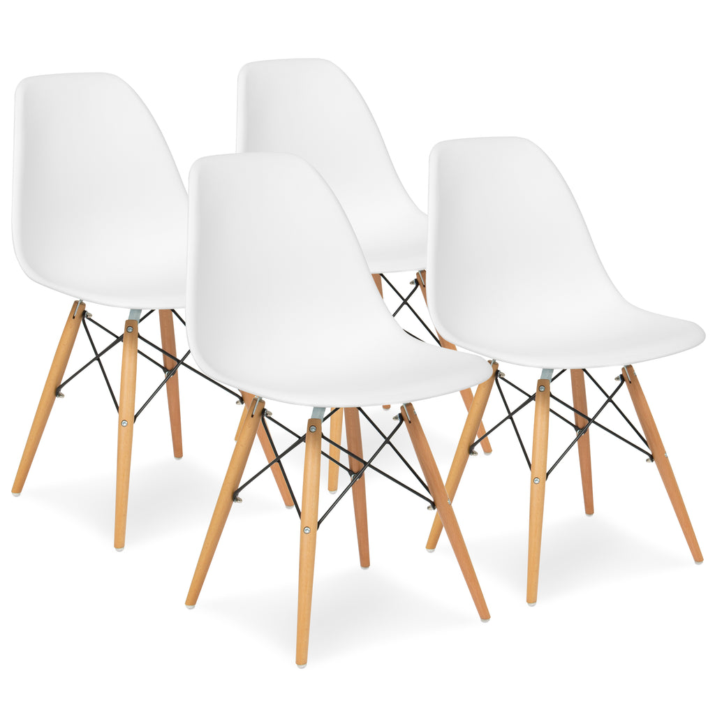 Set of 4 Modern Dining Chairs