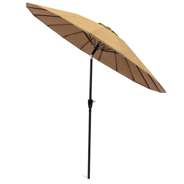 9FT Patio Umbrella - Tan