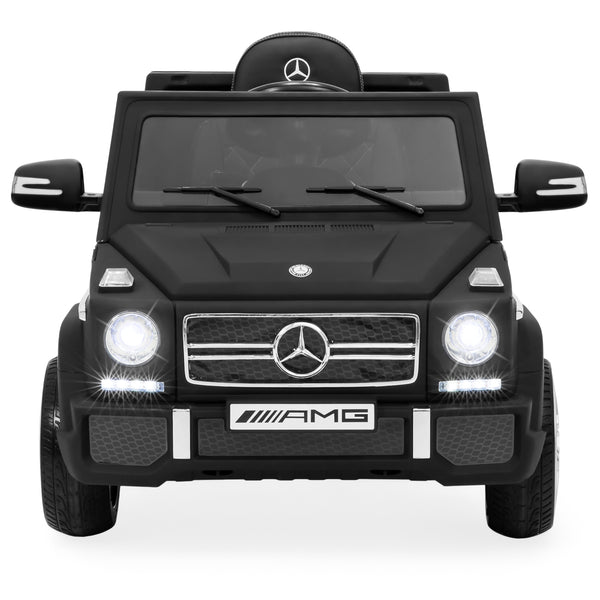 12V Licensed Mercedes Ride On Car - Black