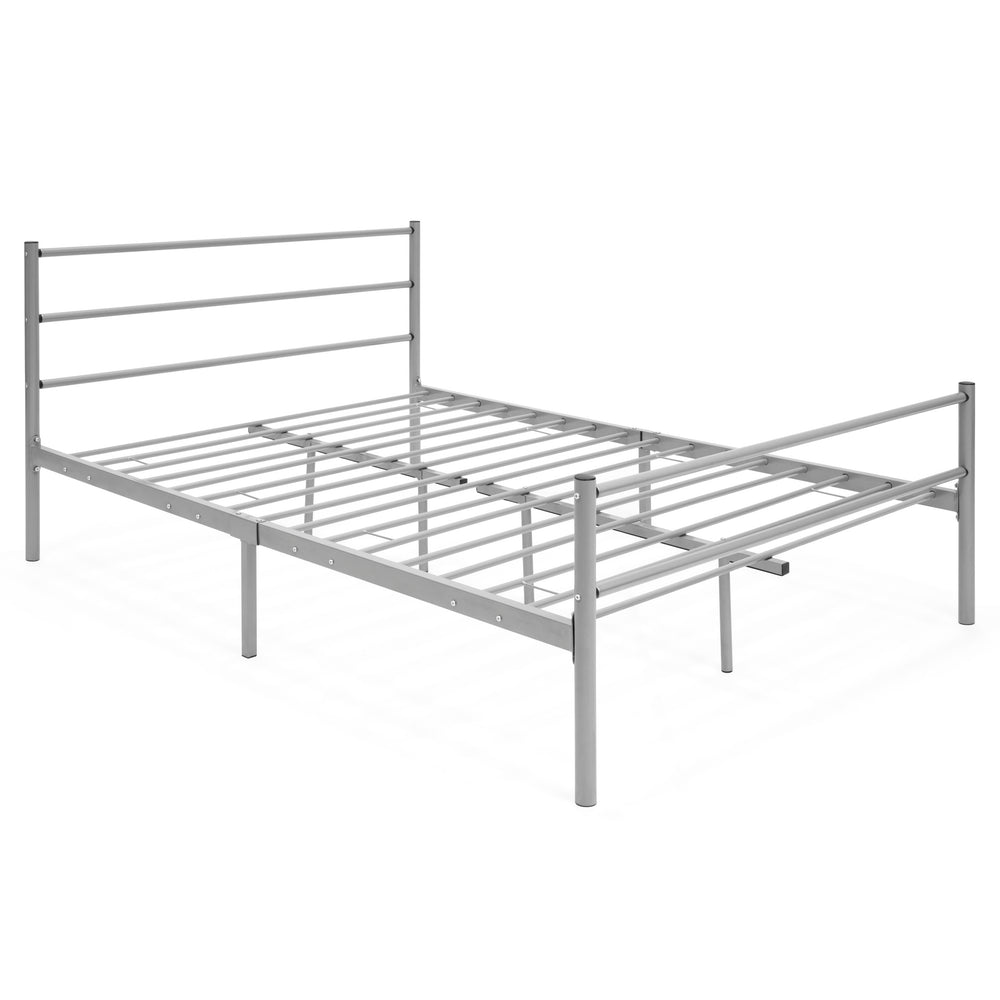 Custom Full Size Metal Bed Frame Decoration Ideas