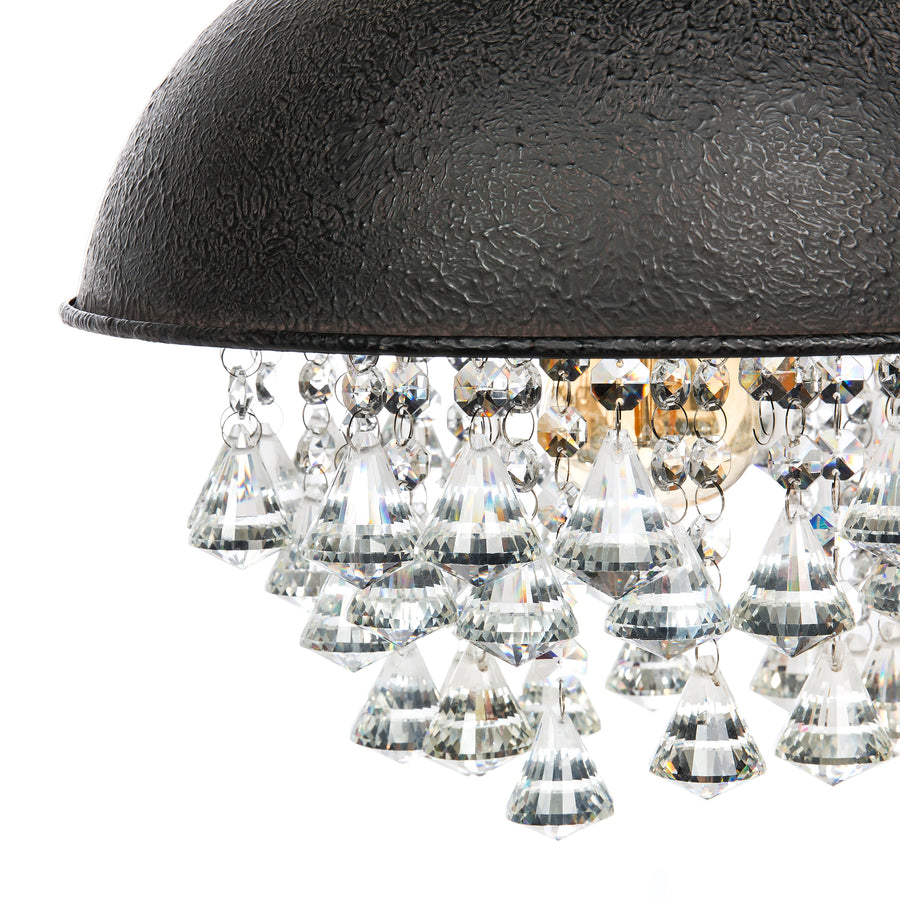 Vintage Style Iron Lighting - Black