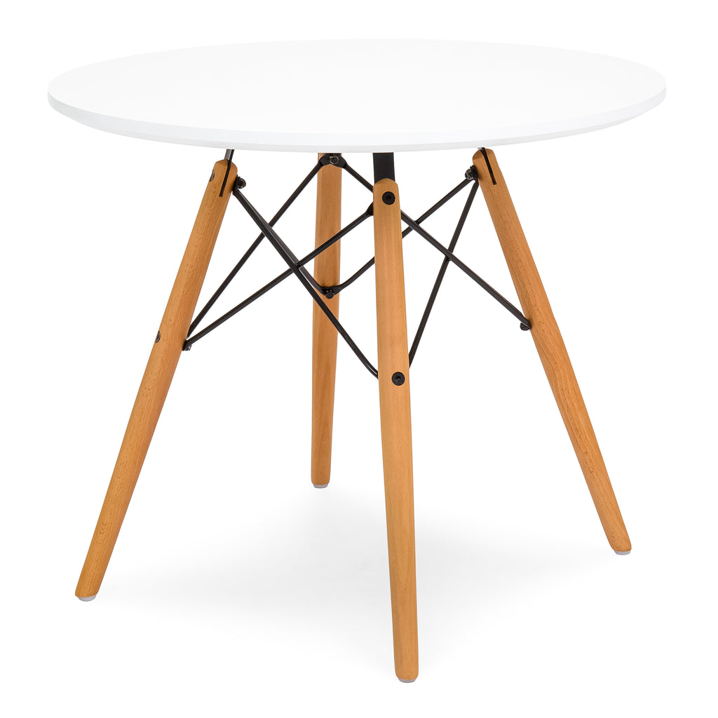 Miraculous Kids Modern Mini Eames Style Multifunctional Round Table Set Cjindustries Chair Design For Home Cjindustriesco