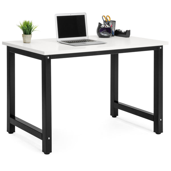 Modern Home Office Computer Desk Table - White