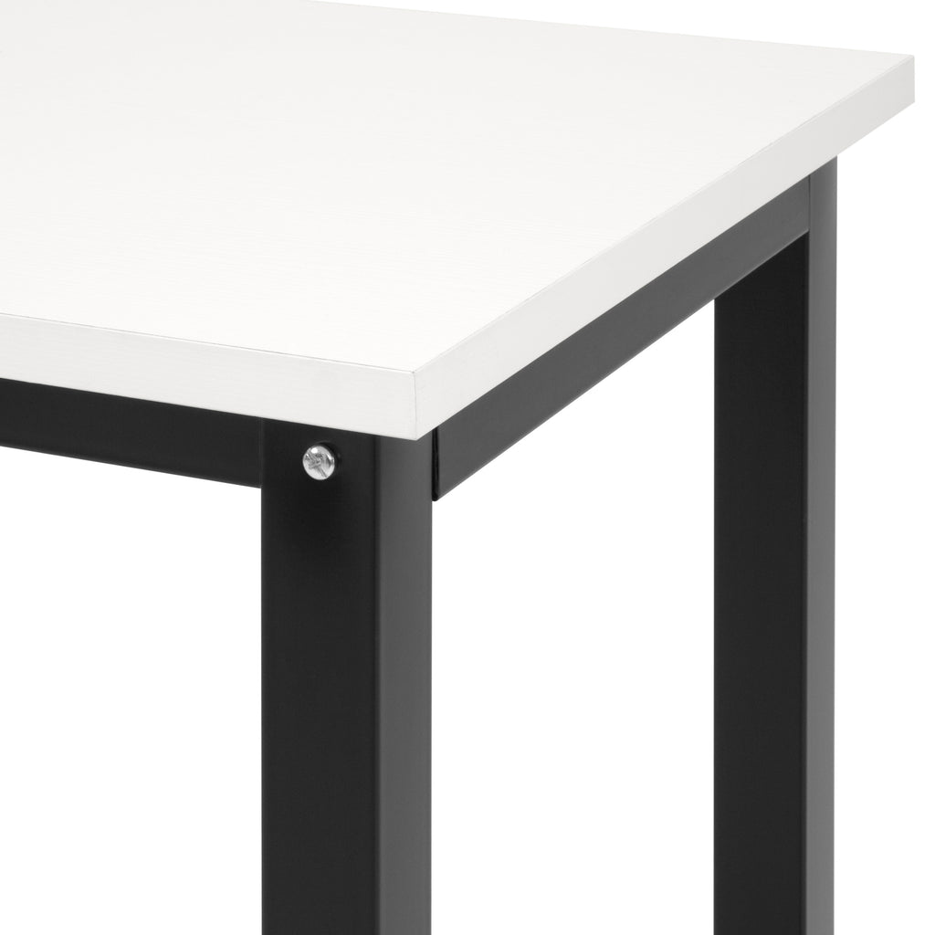 47.25x23.5in Home Office Computer Desk Workstation Table w/ Adjustable Legs