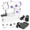 Portable Mini Sewing Machine - White