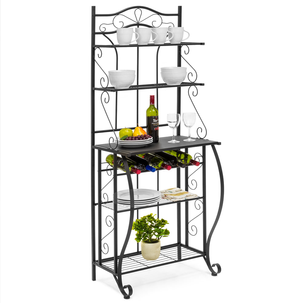 rack ideas entry room from kitchen bakers top