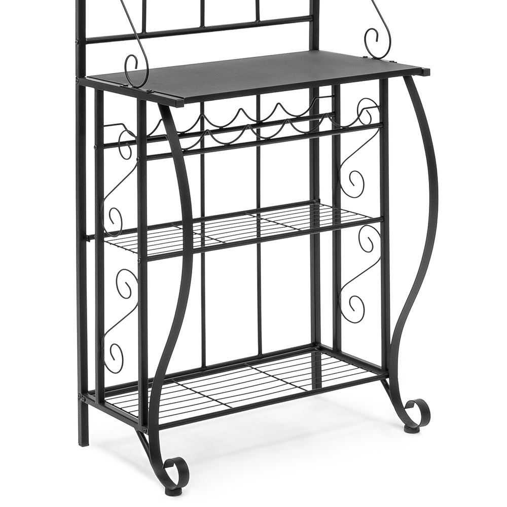 5-Tier Metal Kitchen Bakers Rack (Cappuccino) – Best Choice Products