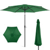 10ft Steel Market Patio Umbrella w/ Tilt