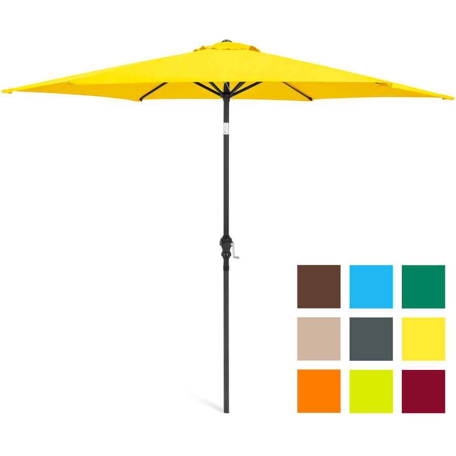 10ft Tilt Market Patio Umbrella - Tan