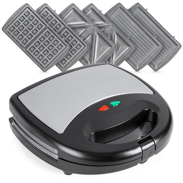 BCP 3-in-1 750W Auto Shut Down Sandwich Maker Press