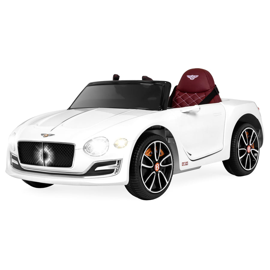 6V Bentley EXP 10 Ride On Car w/ Parent Control - White