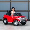 12V Toyota Tundra Ride On Car Truck - Red