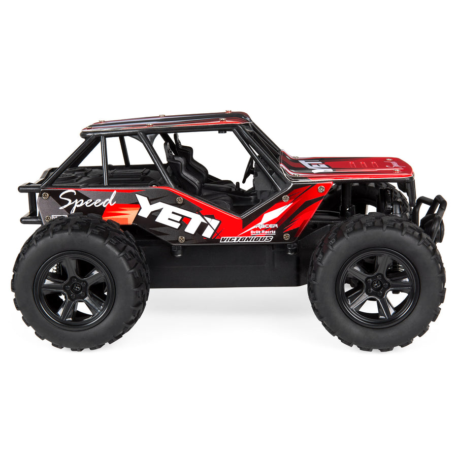 1:20 2.4GHz 25kmh Remote Control Monster Truck - Red