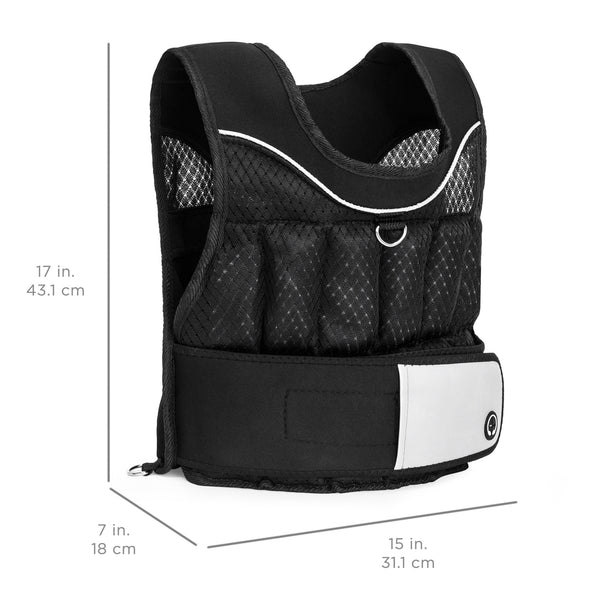 Adjustable Weighted Fitness Vest