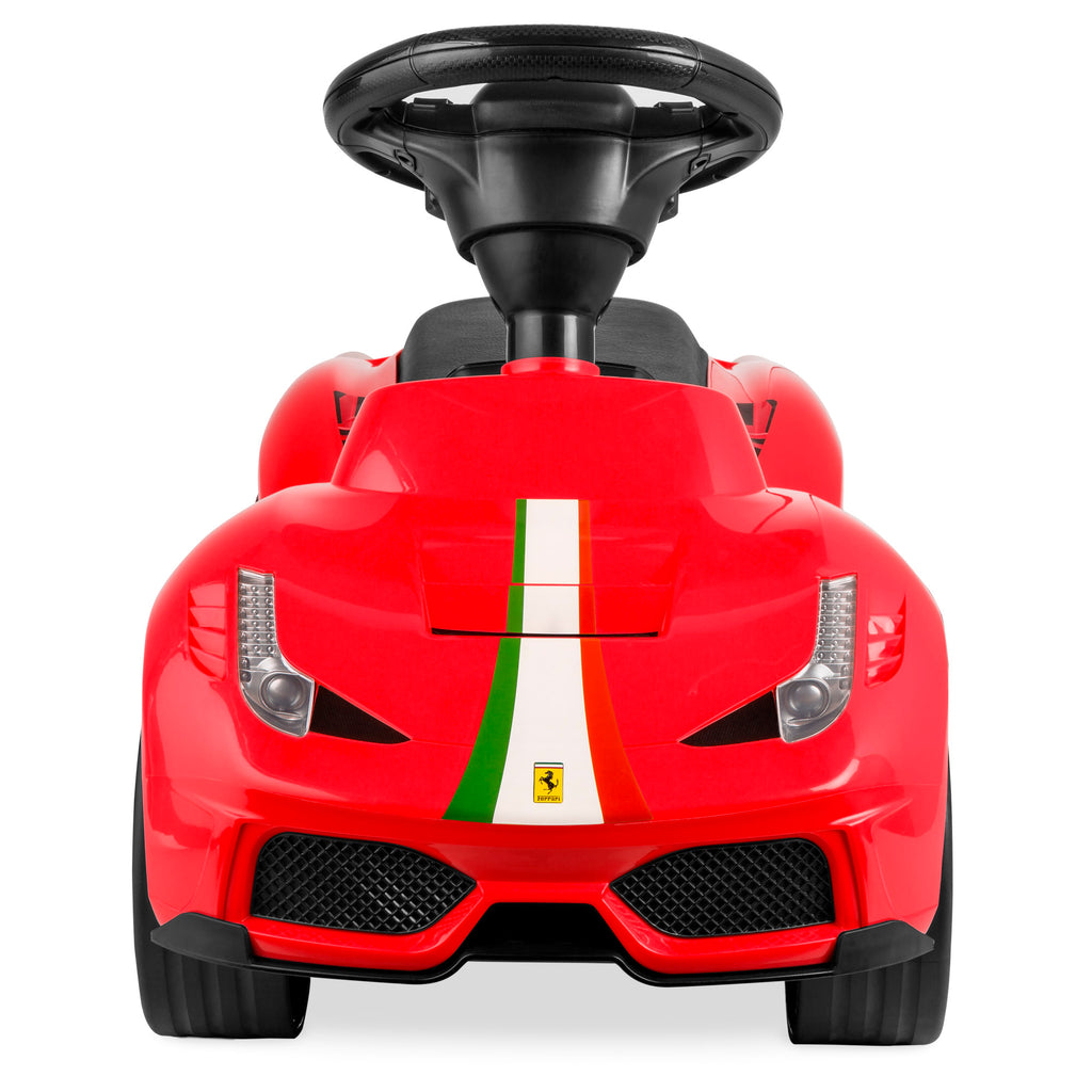 Kids Ferrari 458 Foot-to-Floor Sports Ride-On Push Car Scooter w/ Horn