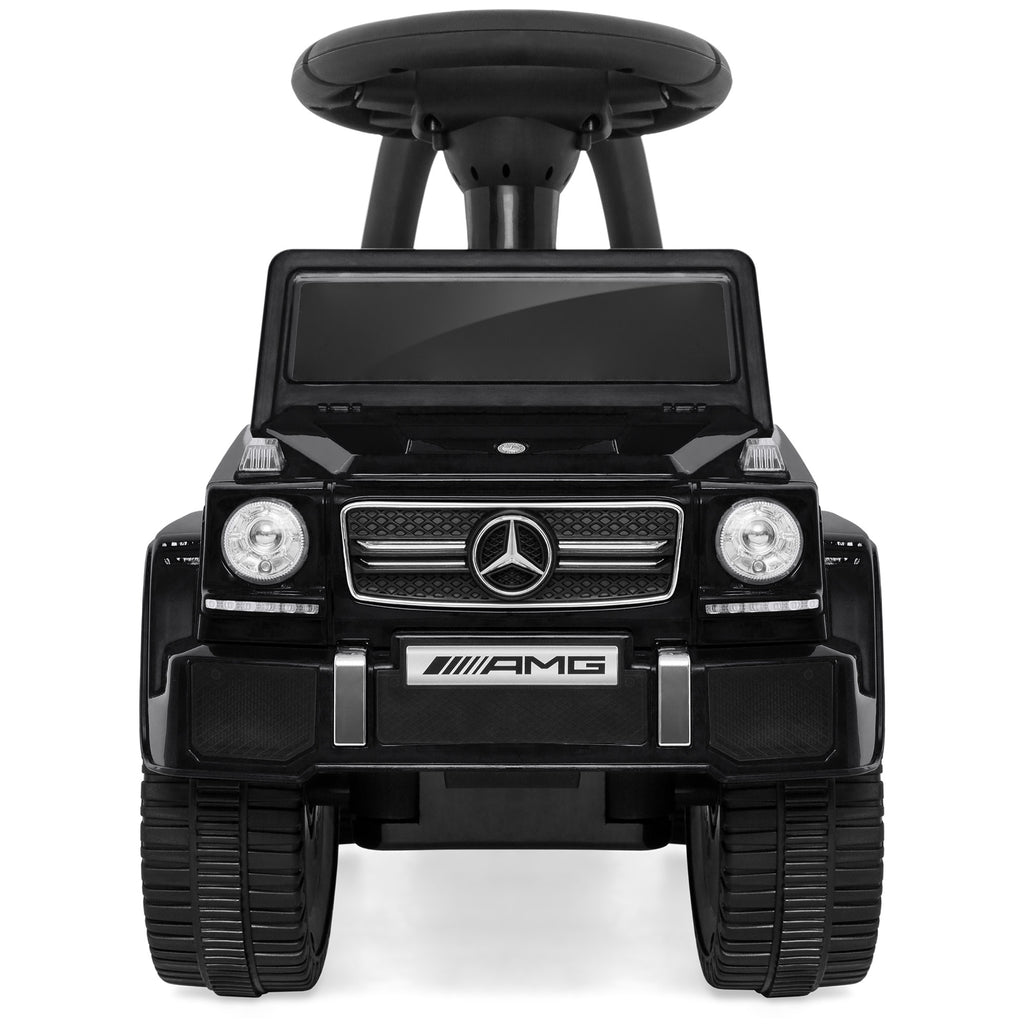 Kids Mercedes G63 Foot-to-Floor Ride-On Push Car w/ Horn
