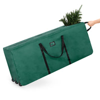 Deals on BCP Rolling Duffle Storage Bag for 9-ft Christmas Tree w/Wheel