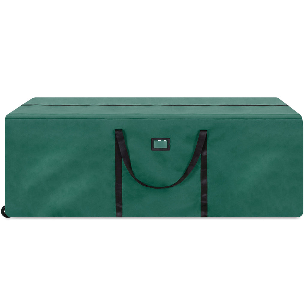 Rolling Duffle Storage Bag for 9ft Christmas Tree w/ Wheels, Handle