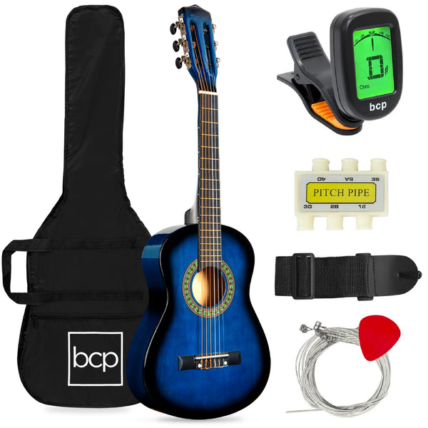 Acoustic Kid's Guitar Beginner Starter Kit with Carrying Case